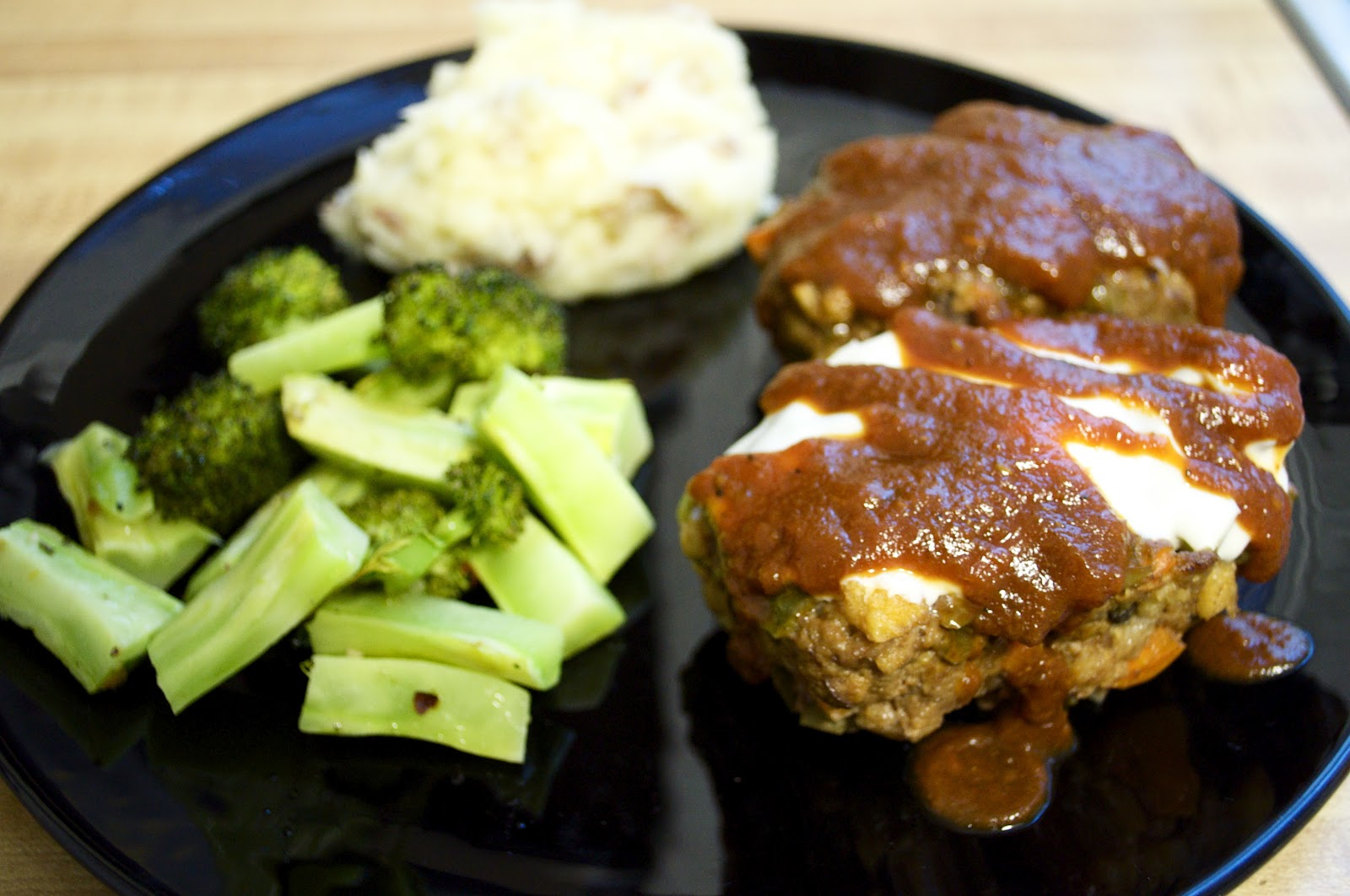 Fresh Love Homestead: Mini Meatloaf with Vegan Mashed Potatoes and ...