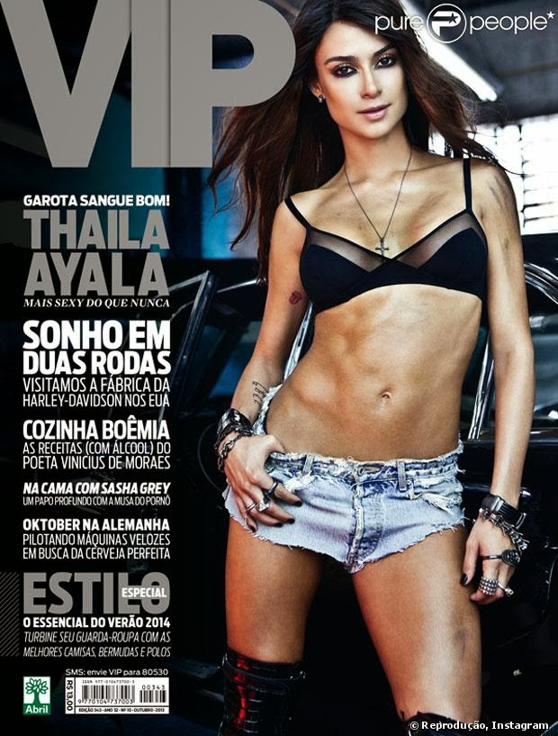 Revista Vip Thaila Ayala – Outubro – 2013 download baixar torrent