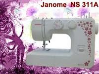 JANOME+ns+311+A Jual Mesin Jahit Portabel Murah