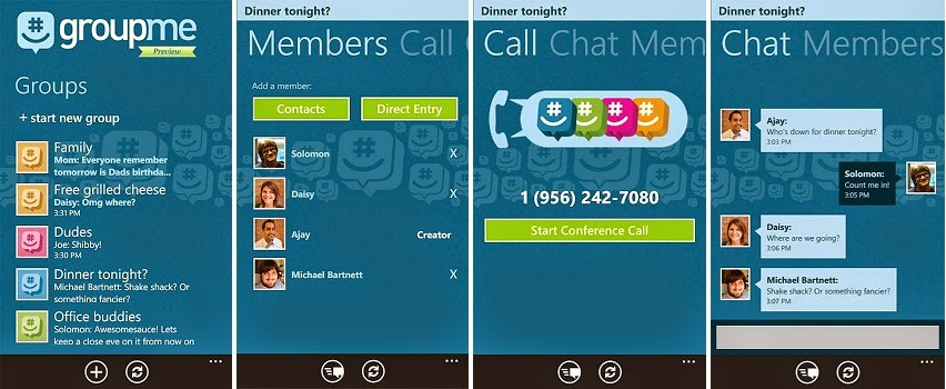 GroupMe (Android) review
