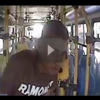 Vídeo mostra estuprador de ônibus em ação no RJ