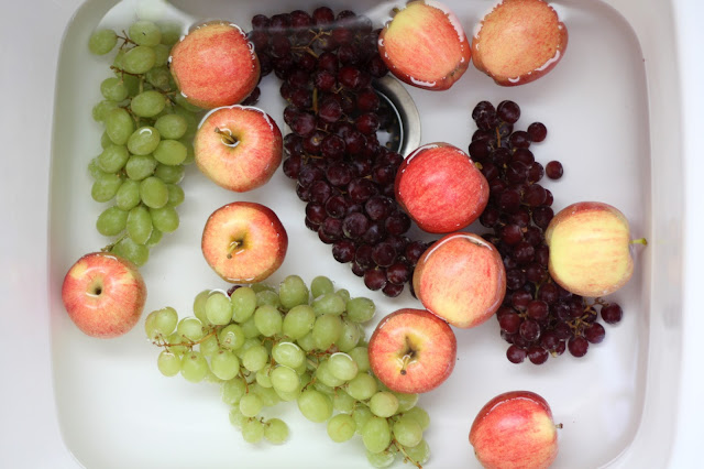 Kitchen Tips: DIY Fruit and Vegetable Wash recipe by Barefeet In The Kitchen