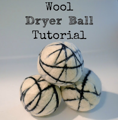 Wool, Dryer Ball, Tutorial
