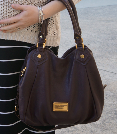 marc by marc jacobs fran bag carob brown