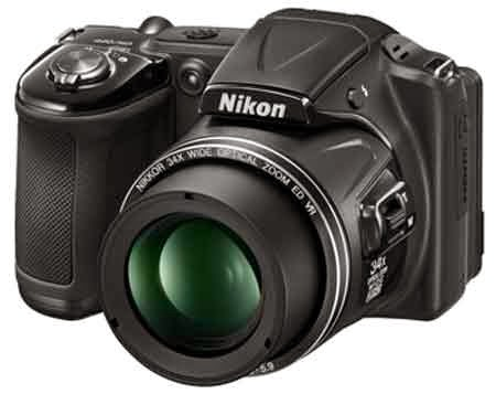 Nikon COOLPIX L830 16 MP CMOS Digital Camera with 34x Zoom NIKKOR Lens and Full 1080p HD Video