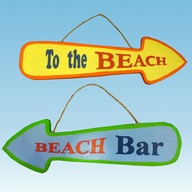 Handcrafted Beach Signs Nautical Handcrafted Decor Blog