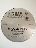 Cover Album of Nicole Peay - Let Your Love Go & You Can't Handle It (VLS) (1994)