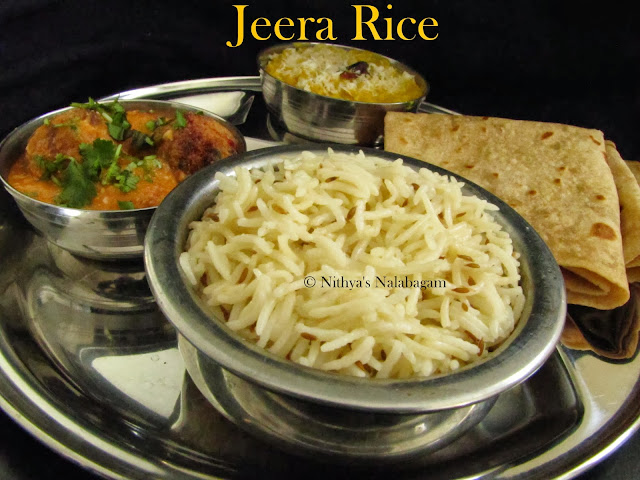 Jeera Rice in Pressure Cooker