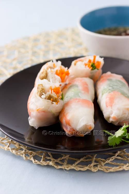 香茅豬肉米紙卷 Vietnamese Pork Rice Paper Rolls01