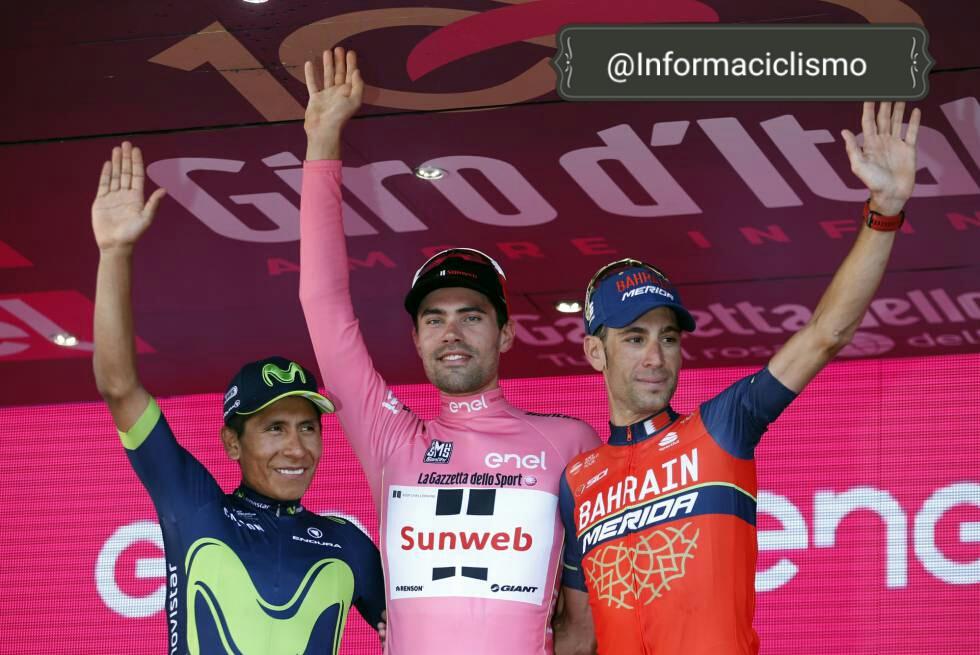 Podio Giro 2017