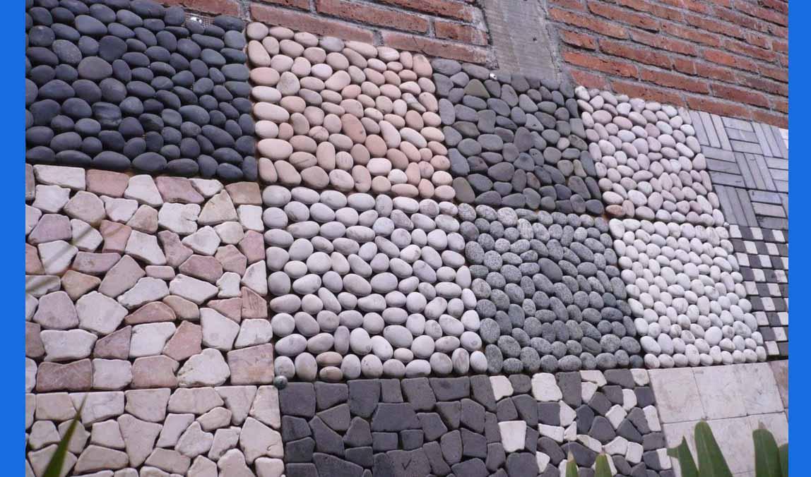Desain Pagar Rumah Menggunakan Batu Alam - Rumah Idaman