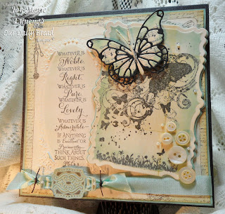 God's Love, Bird and Butterfly Corners, Scripture Collection 9, Flourished Verses, Two-Step Butterflies