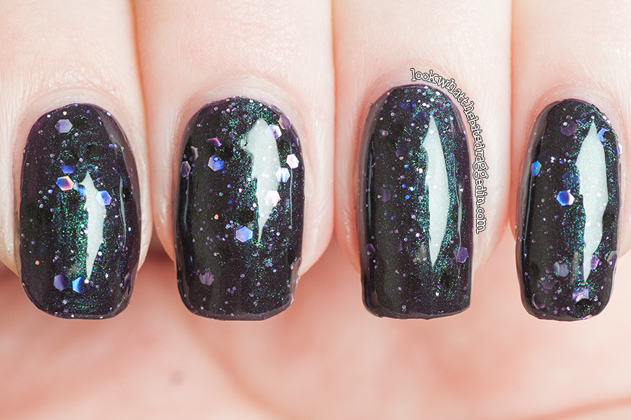 Illamasqua Creators collection Perseid nail polish swatch manicure