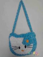Tas Hello Kitty Biru