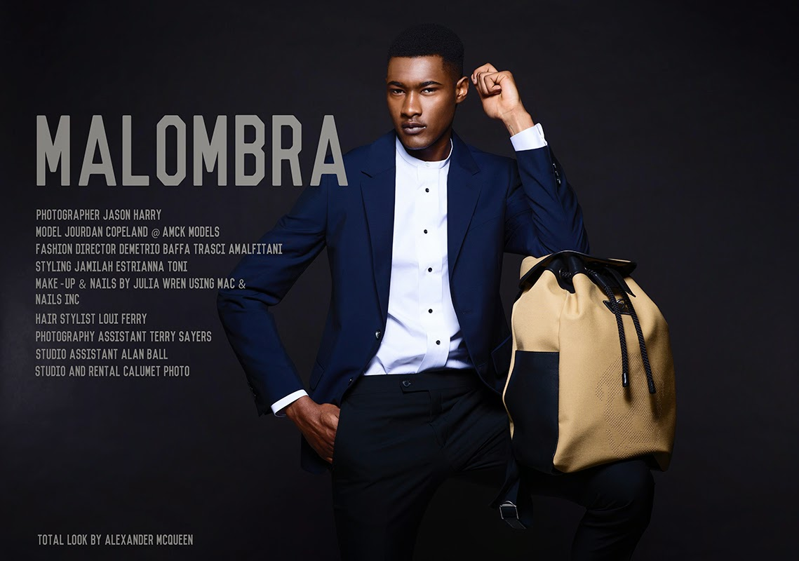 Jourdan copeland for THE FASHIONISTO exclusive MaIombra