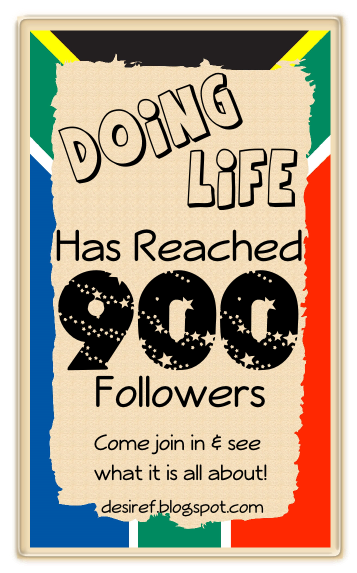 Desire Fourie 900 followers candy!!