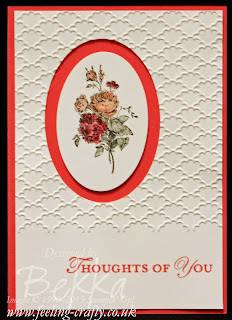 Best of Flowers Bouquet Card by UK based Stampin' Up! Demonstrator Bekka Prideaux
