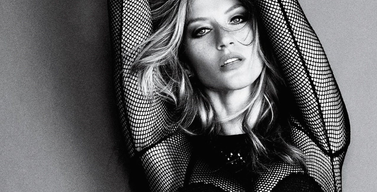 Image result for gisele bundchen black and white
