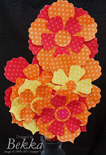 Fun Flowers from Stampin' Up!