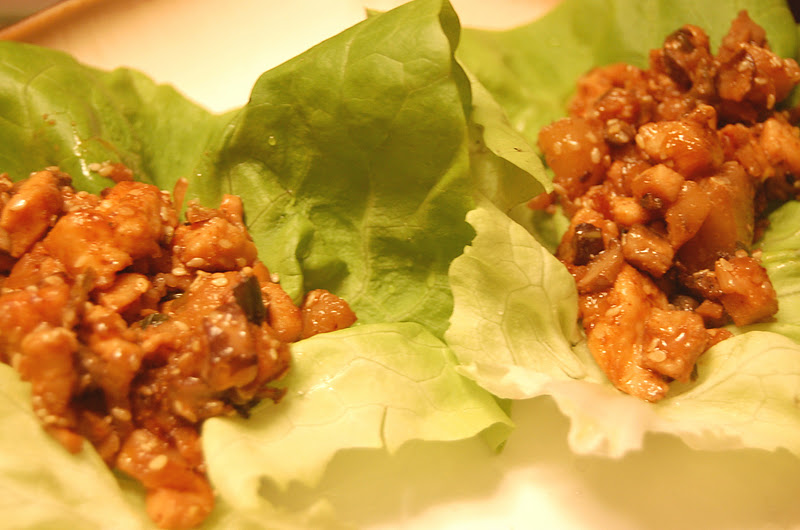 PromiseMe2....and A Lot About Food!: Asian Chicken Lettuce Wraps