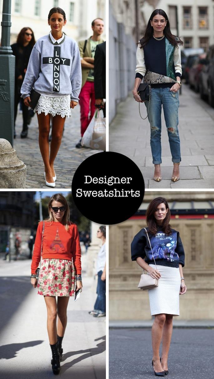 designer sweatshirt, street syle