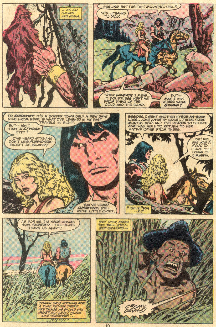 Conan the Barbarian (1970) Issue #108 #120 - English 7
