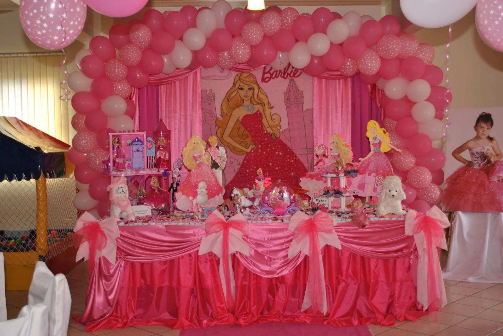 decoracao festa barbie : decoracao festa barbie:bolos e decorações de festa: BARBIE