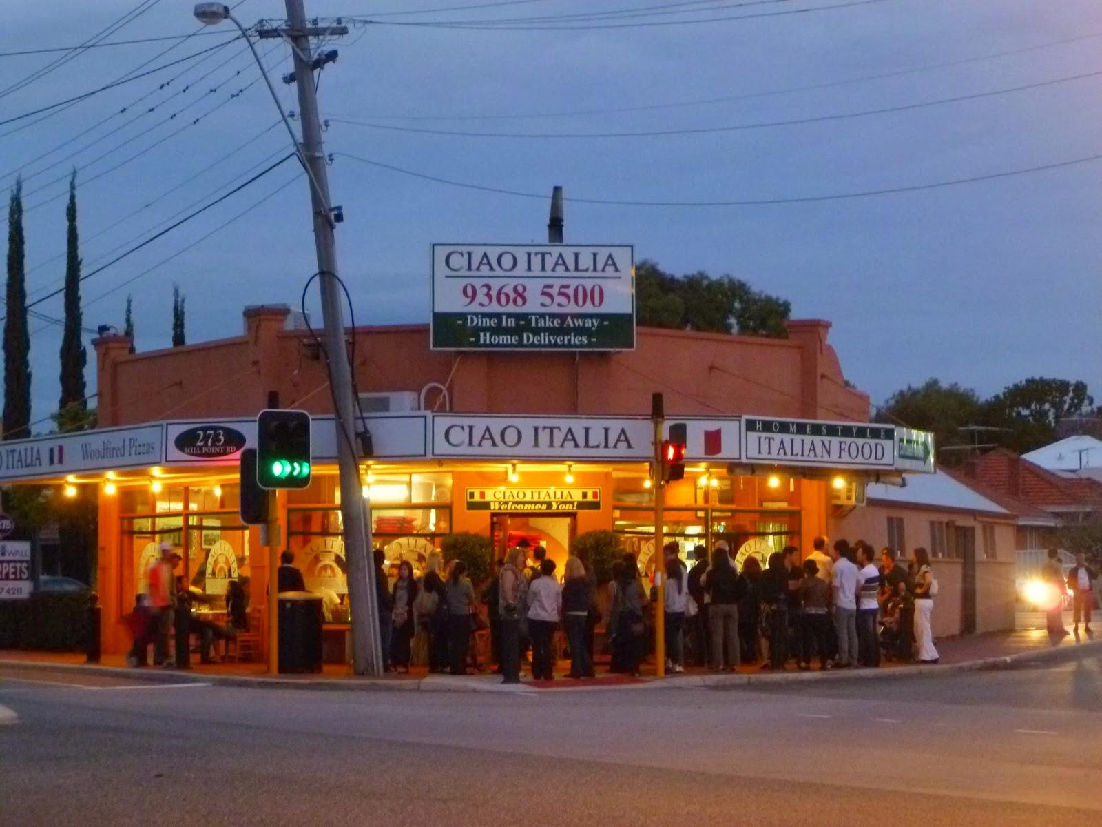 Ciao Italian Restaurant Perth