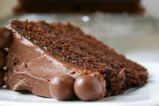Bakergirl Chocolate Malt Cake