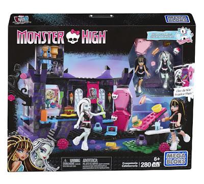 TOYS : JUGUETES - MEGA BLOKS Monster High  Creepateria : Cafeterroría  Producto Oficial 2015 | Mattel DKT93 | Piezas: 280 | Edad: +6 años  Comprar en Amazon España & Buy Amazon USA