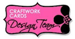 PROUD TO DESIGN FOR CRAFTWORK CARDS