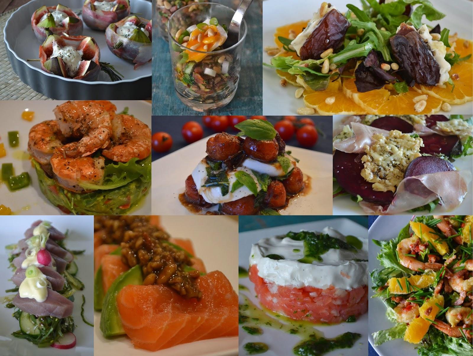 heerlijke lunchgerechten