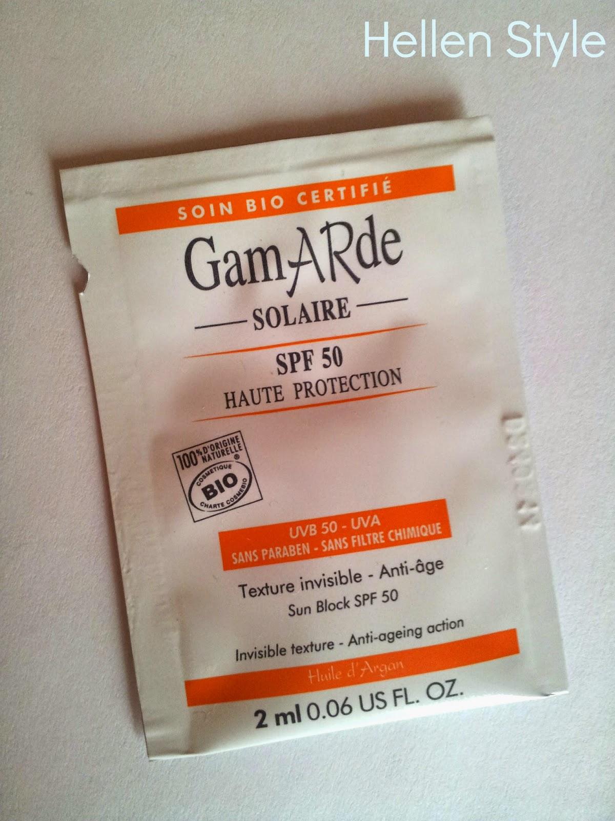 Crema solar Gamarde