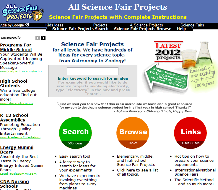science fair project help Read this list of 200 science-fair project ideas circle all of the ones that sound interesting to you 1 does the use of flippers help a person swim faster 139.
