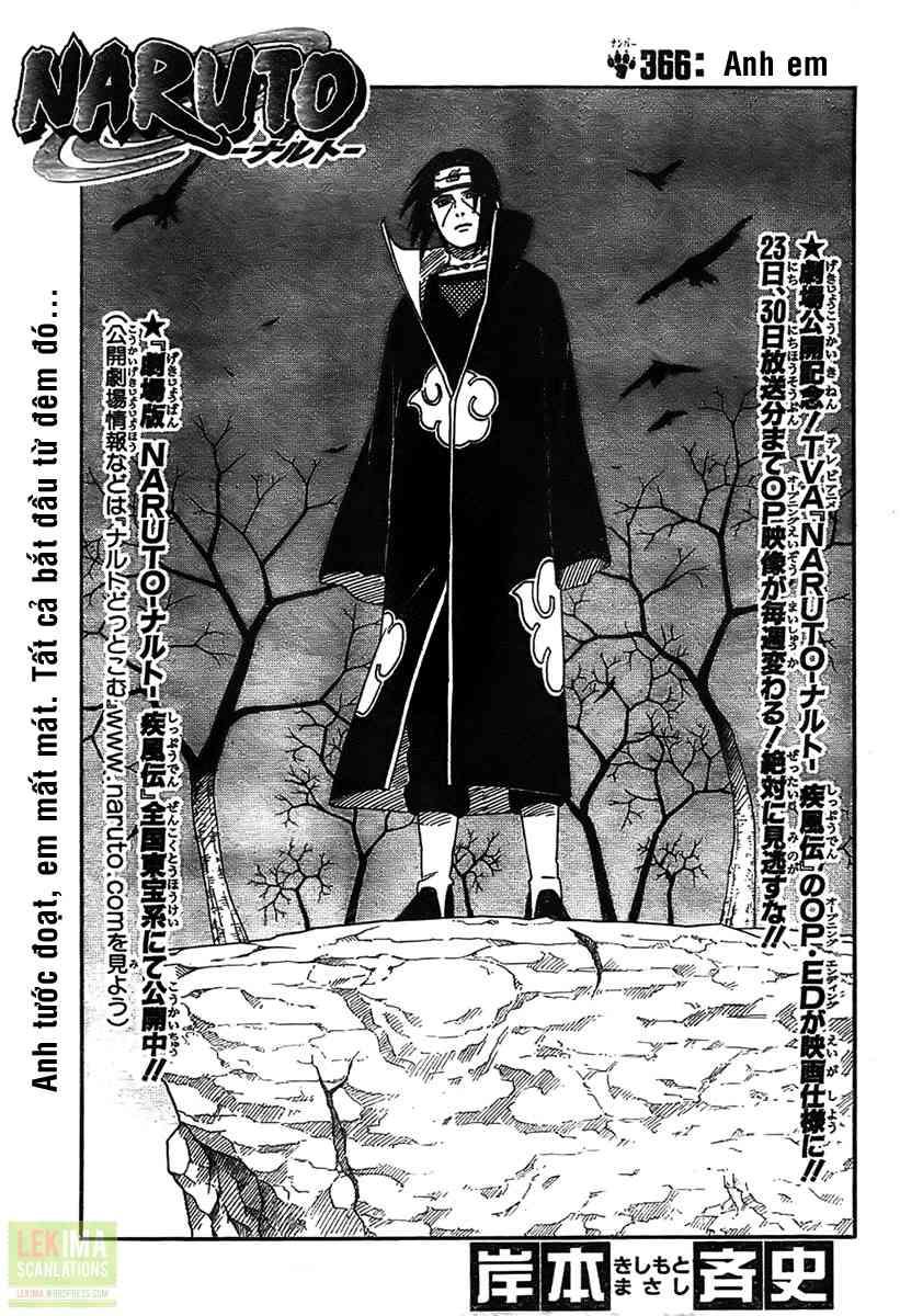 Naruto chap 366 Trang 1 - Mangak.info