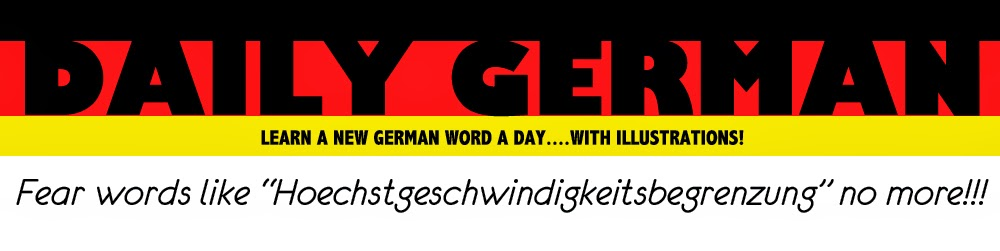 Daily German: Learn a New German Word a Day!