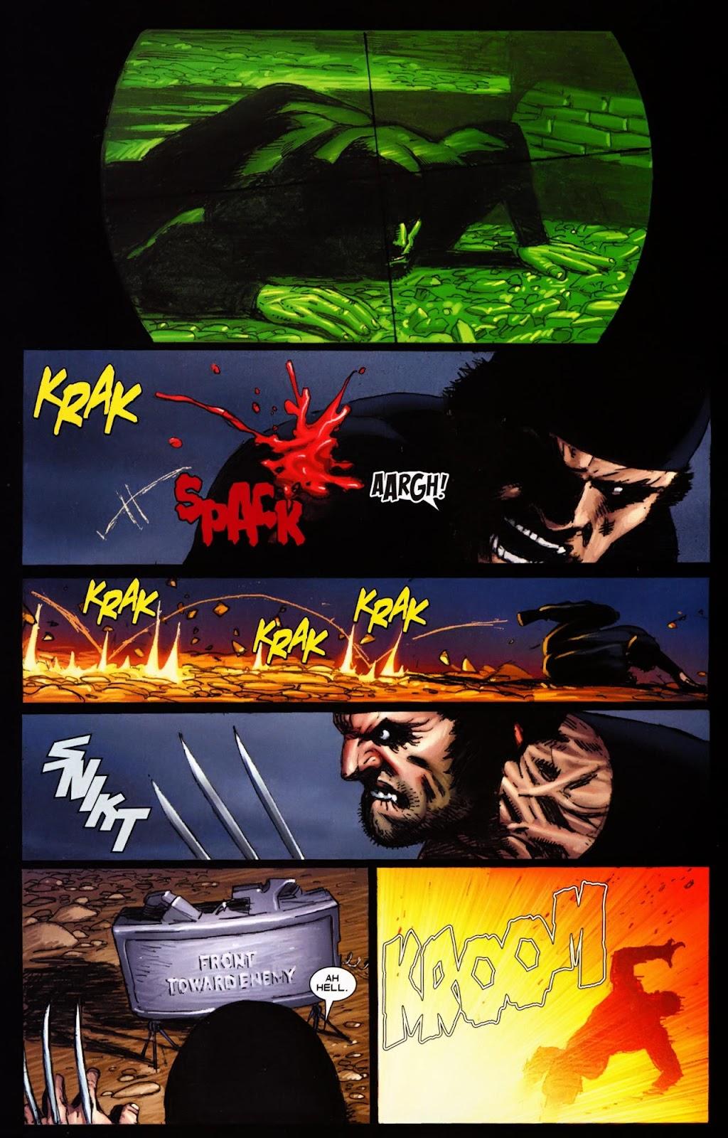 Read online Wolverine (2003) comic -  Issue #65 - 7