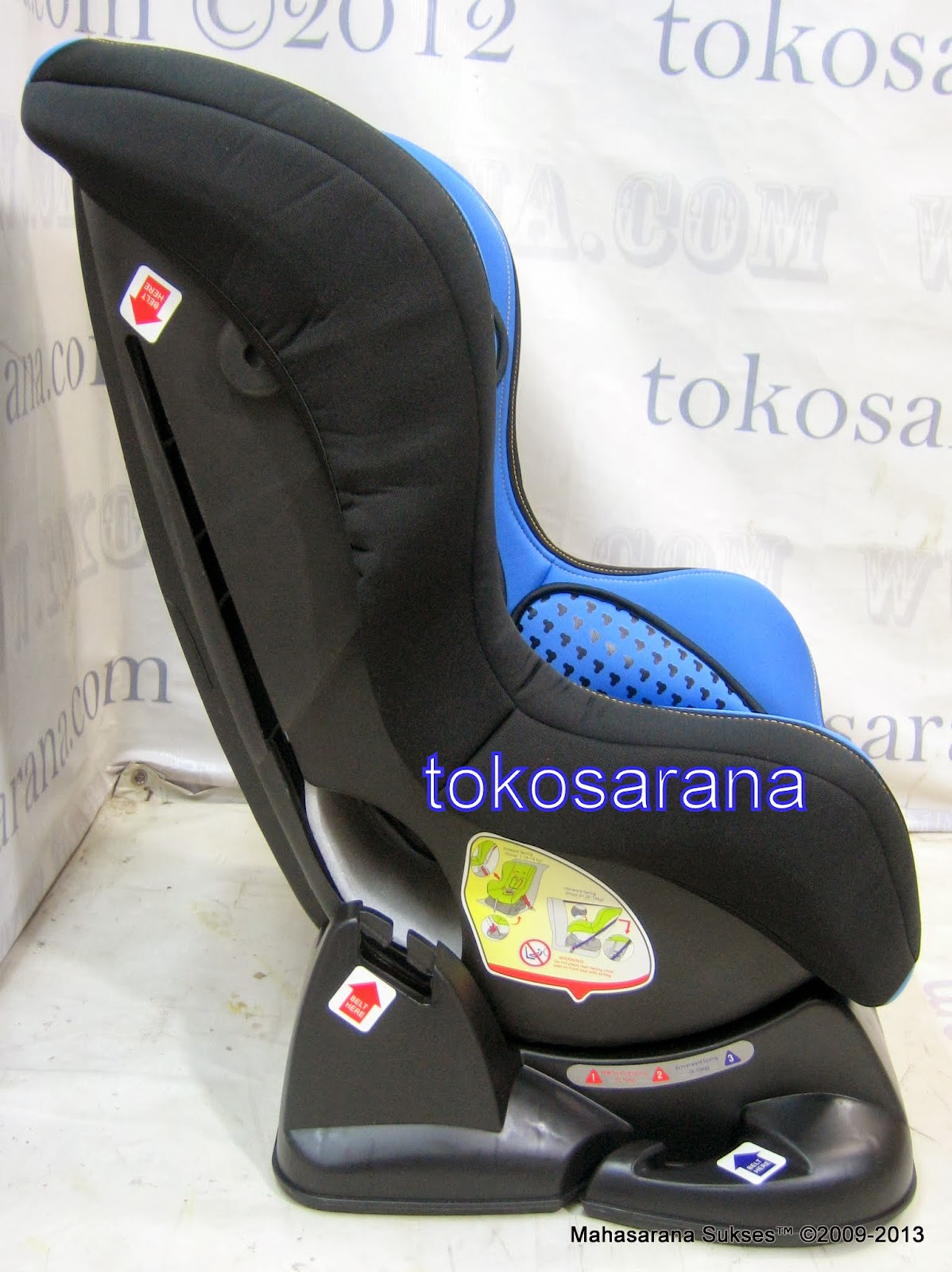 clearance sale sepeda mainan anak dan perlengkapan bayi baby car seat pliko db018b disney. Black Bedroom Furniture Sets. Home Design Ideas