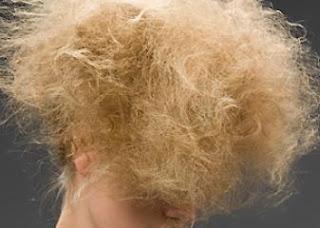 na suche włosy