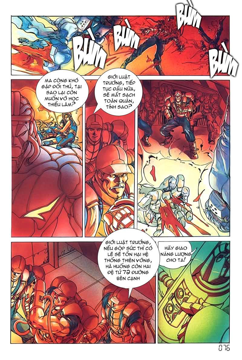 Cyber Weapon Z - Siêu Thần Z chap 4 - Trang 35