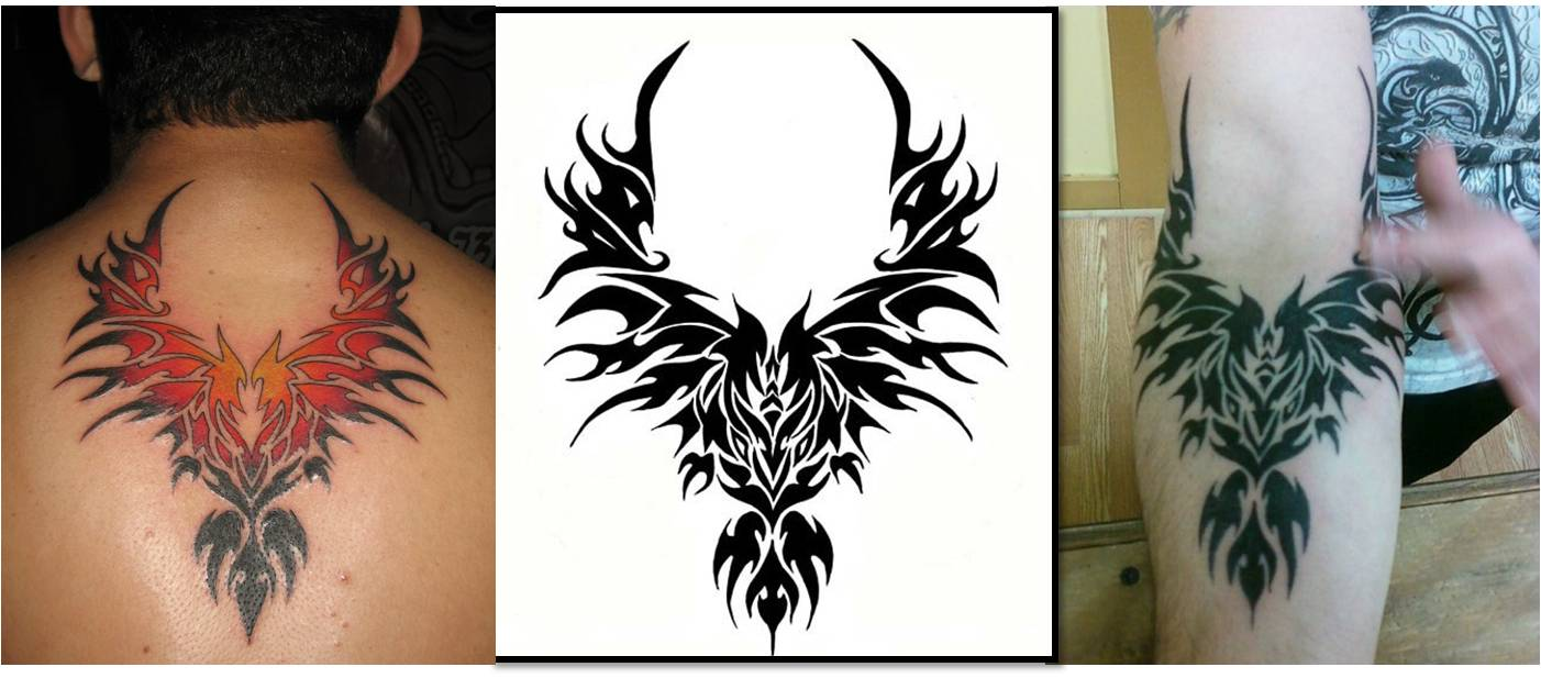 Trend Tattoos: Phoenix Tribal Tattoos