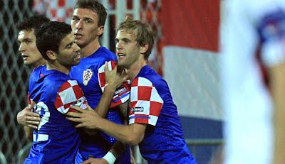 Croatia 2 - 0 Latvia