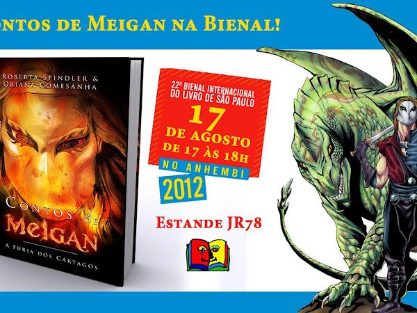 Contos de Meigan participará da 22ª Bienal Internacional do Livro de São Paulo
