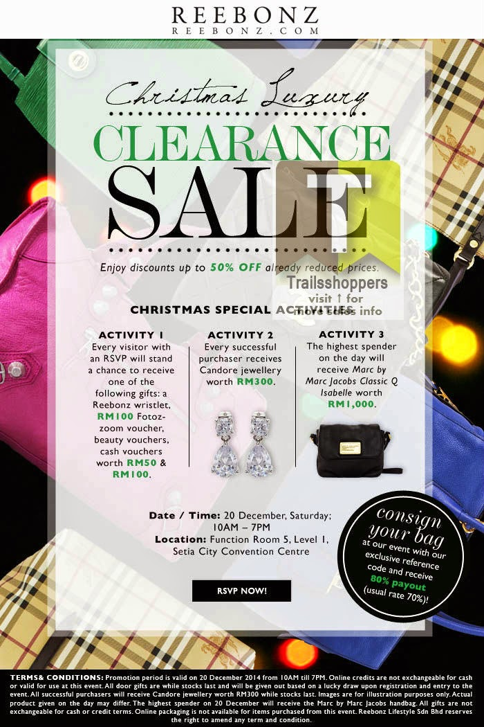 Reebonz Malaysia Clearance Sale