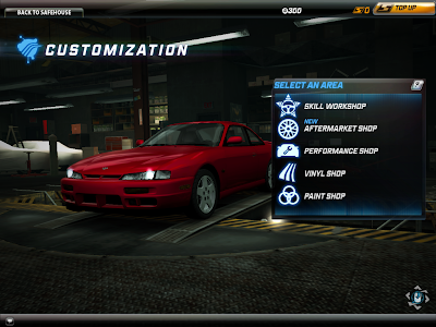 Need For Speed World - Customization