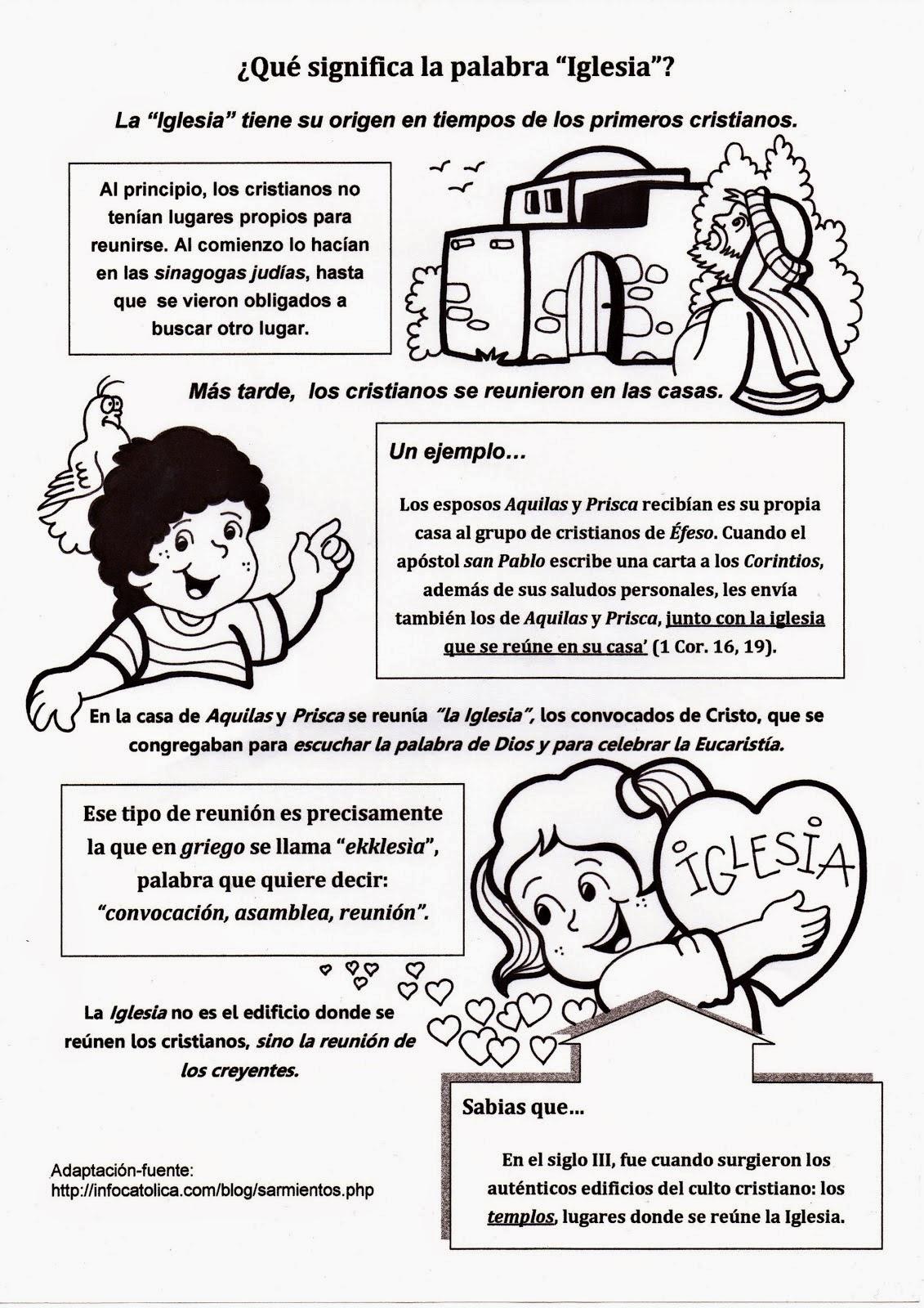 EDUKARELIGARE4: TEMA: LA IGLESIA ES EL NUEVO PUEBLO DE DIOS ( TAREA ...