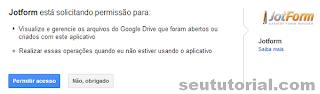 como usar jotform google-drive 2013