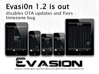 iOS 6.xx Jailbreak Tool (Evasi0n 1.2 Released With Bug Fixes And OTA Update Removal)