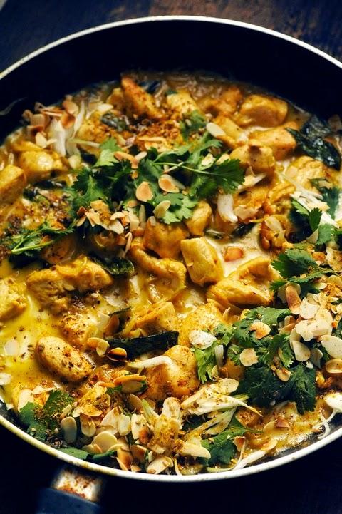 P'tit poulet à l'indienne et riz indien aux épices pour un plateau télé… C'est au programme...