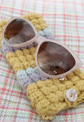free crochet pattern sunglasses case